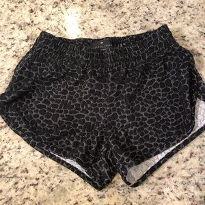 Outdoor Voices Black Athletic Shorts